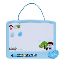 涂鸦板画美术_学习绘画文具儿童写字板彩色磁性画板带印章